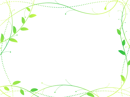 ai curved plant background · wallpaper · frame