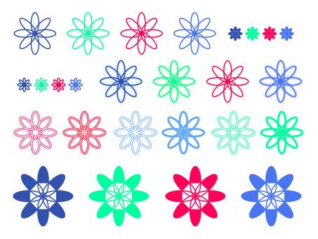 Flower motif 2