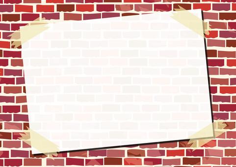 Brick memo _ red