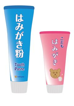 Toothpaste (for adults, for children)