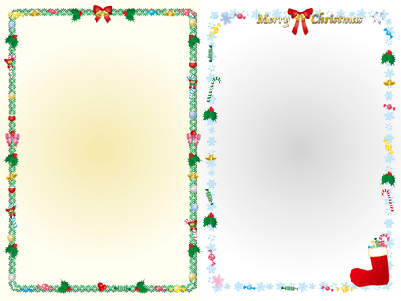 Christmas frame 69