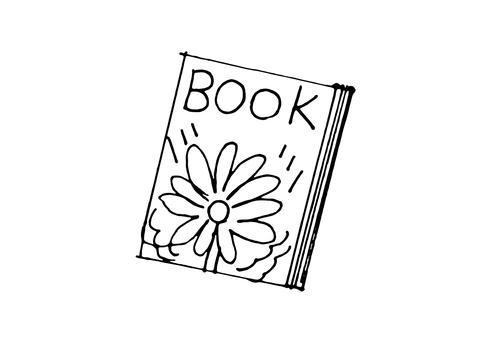 BOOK_ handwriting _ monochrome