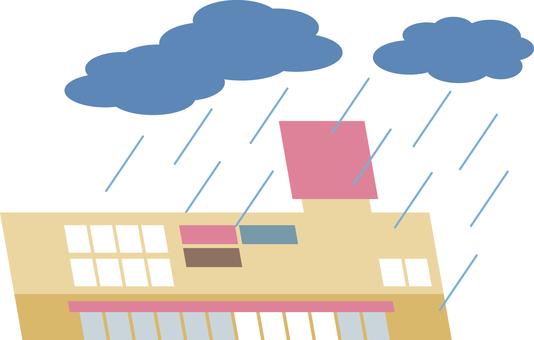 Heavy rain (supermarket)