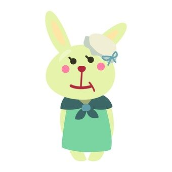 Grandma rabbit