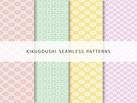 Pattern set of Kikuniko