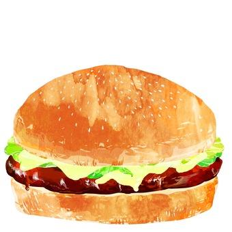 Hamburger · Teriyaki