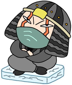 Ninja character · patience