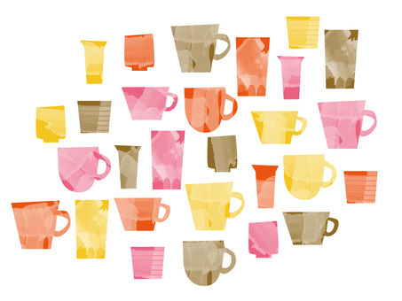 Various cups 2