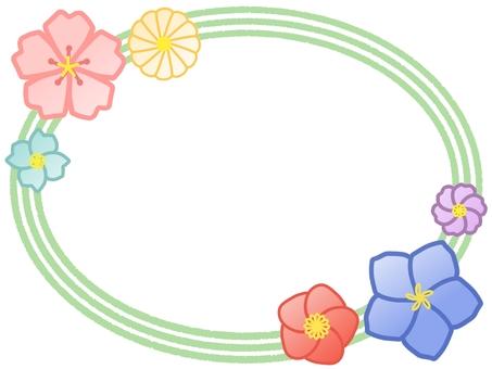 일본식 프레임 (과자 이미지)