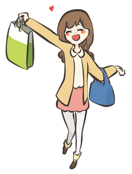 A person who was able to do a good shopping