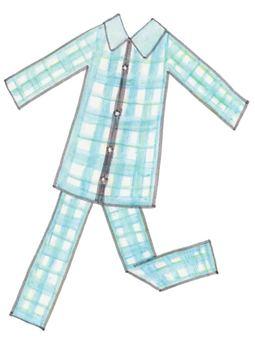 Pajamas (Blue)