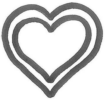 Heart double heart double