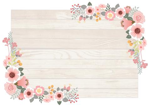 花卉裝飾框架7