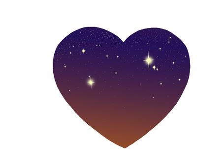 Heart dawn