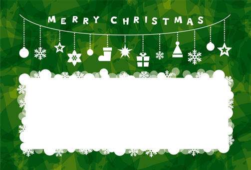 Christmas / card green