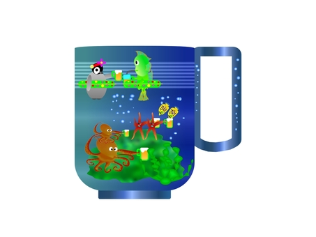 Coffee cup 09