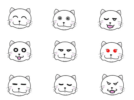 White Cat expression set