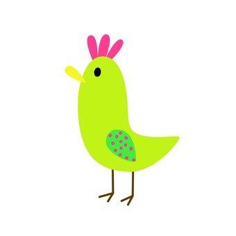 Green bird 5