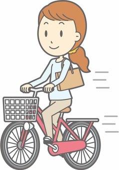 Bicycle Woman - Bike Ride - Full Length