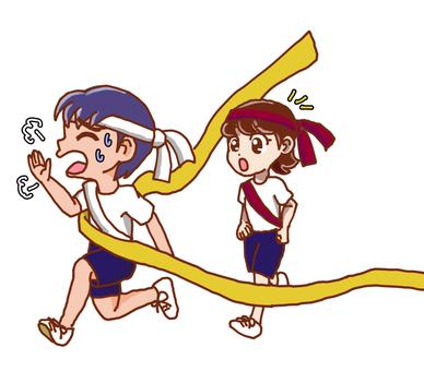 Sports festival relay