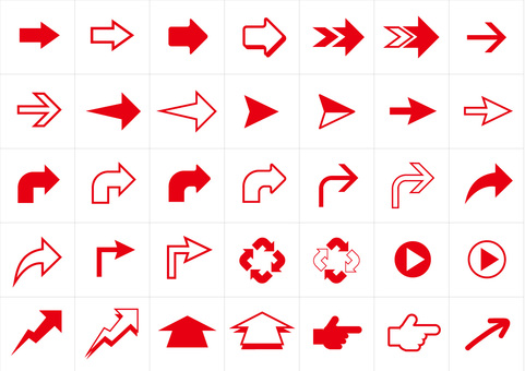 Red arrow summary