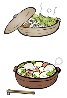 Japanese pot dish