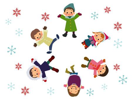어린이 겨울 서클