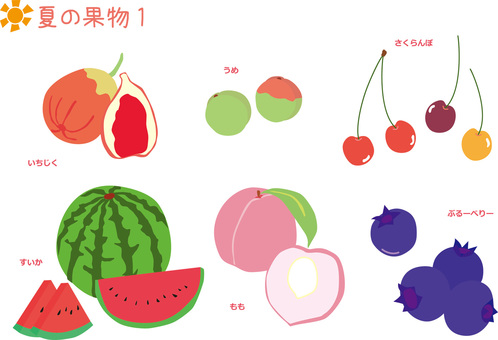 여름 과일 1