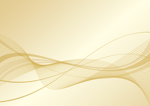 Curved background gold