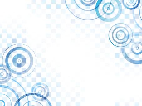 "Ripple checkered ""blue"""