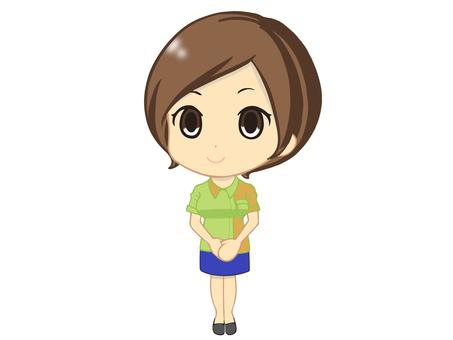 Clerk Ms. Girl