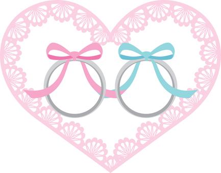 結婚戒指和心臟種族