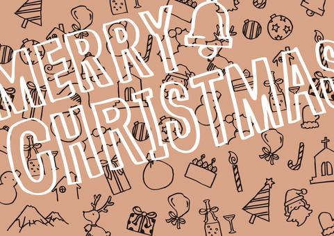 Hand-drawn Christmas 9