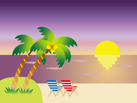 Sunset Beach (purple)