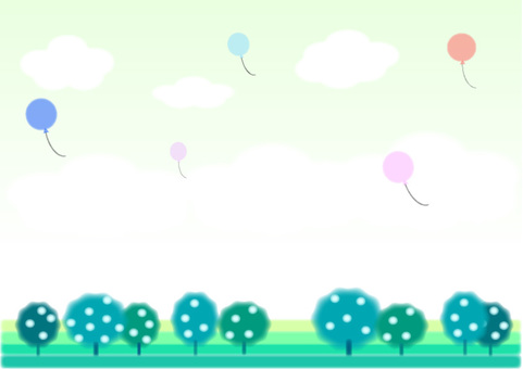 Refreshing sky