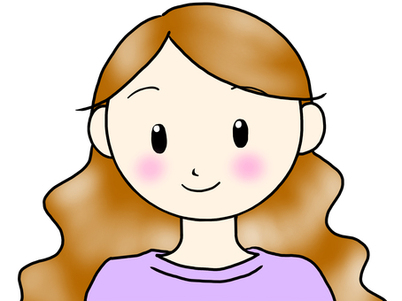 갈색 머리의 여자 2