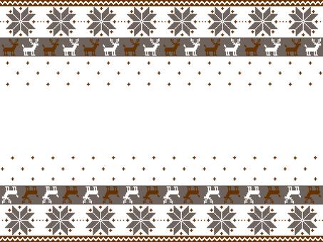 Nordic pattern gray
