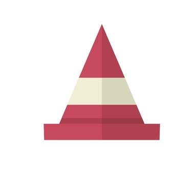 Triangular cone