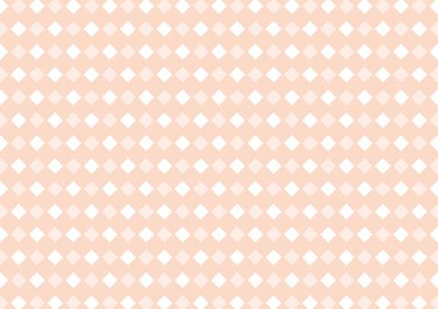 Diamond shaped background pattern Orange
