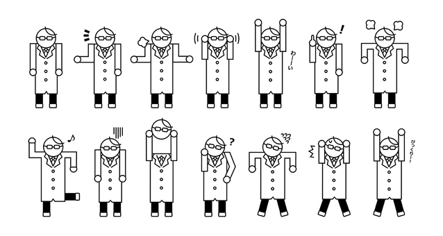 Doctor person doctor work occupation simple