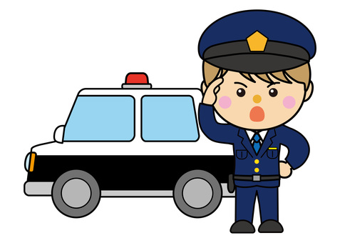 Car 05_07 (Police car / police officer)