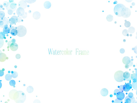 Watercolor frame ver 07