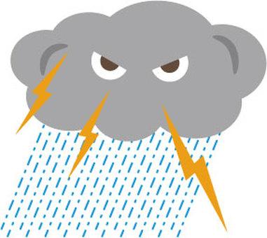 Guerrilla Heavy Rain Storm Thunderstorm 1
