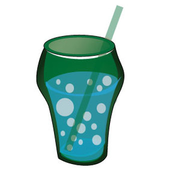 Glass with soda included 100 x 100 mm