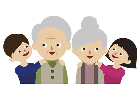 손자와 조부모