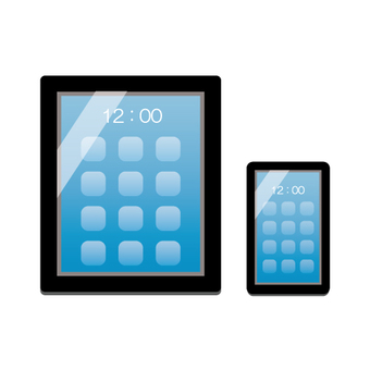 Buttonless smartphone and tablet image