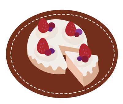 Berry cream cake 2