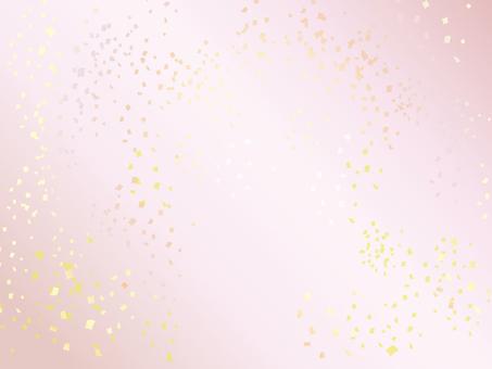 New Year confetti · peach