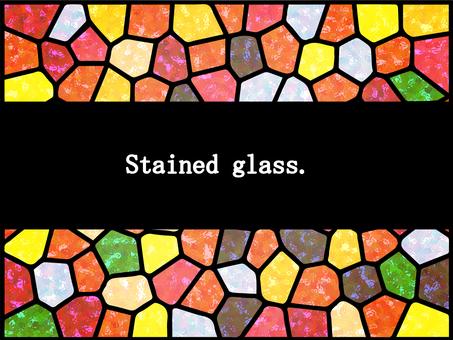 彩繪玻璃(阿基拉)