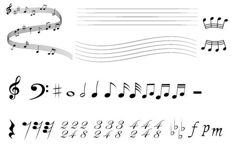 Music symbol No. 1